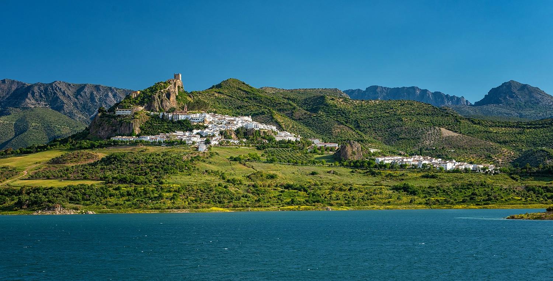 Zahara de la Sierra village and reservoir