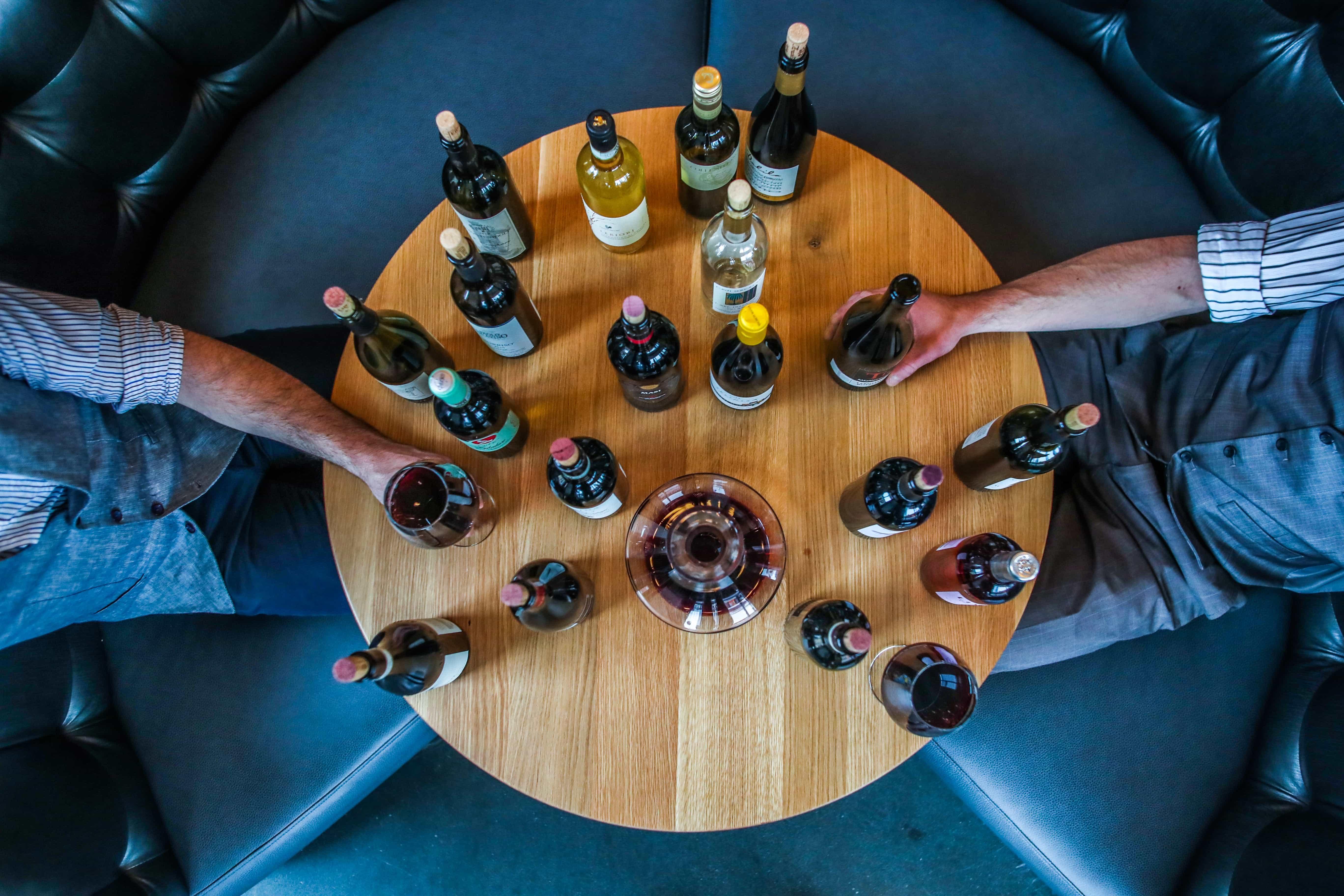 Top wines