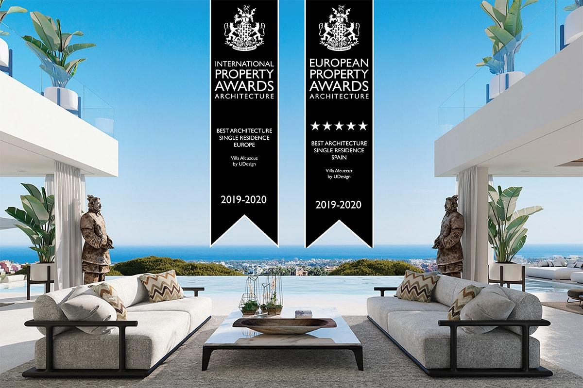 Villa Alcuzcuz, European property awards