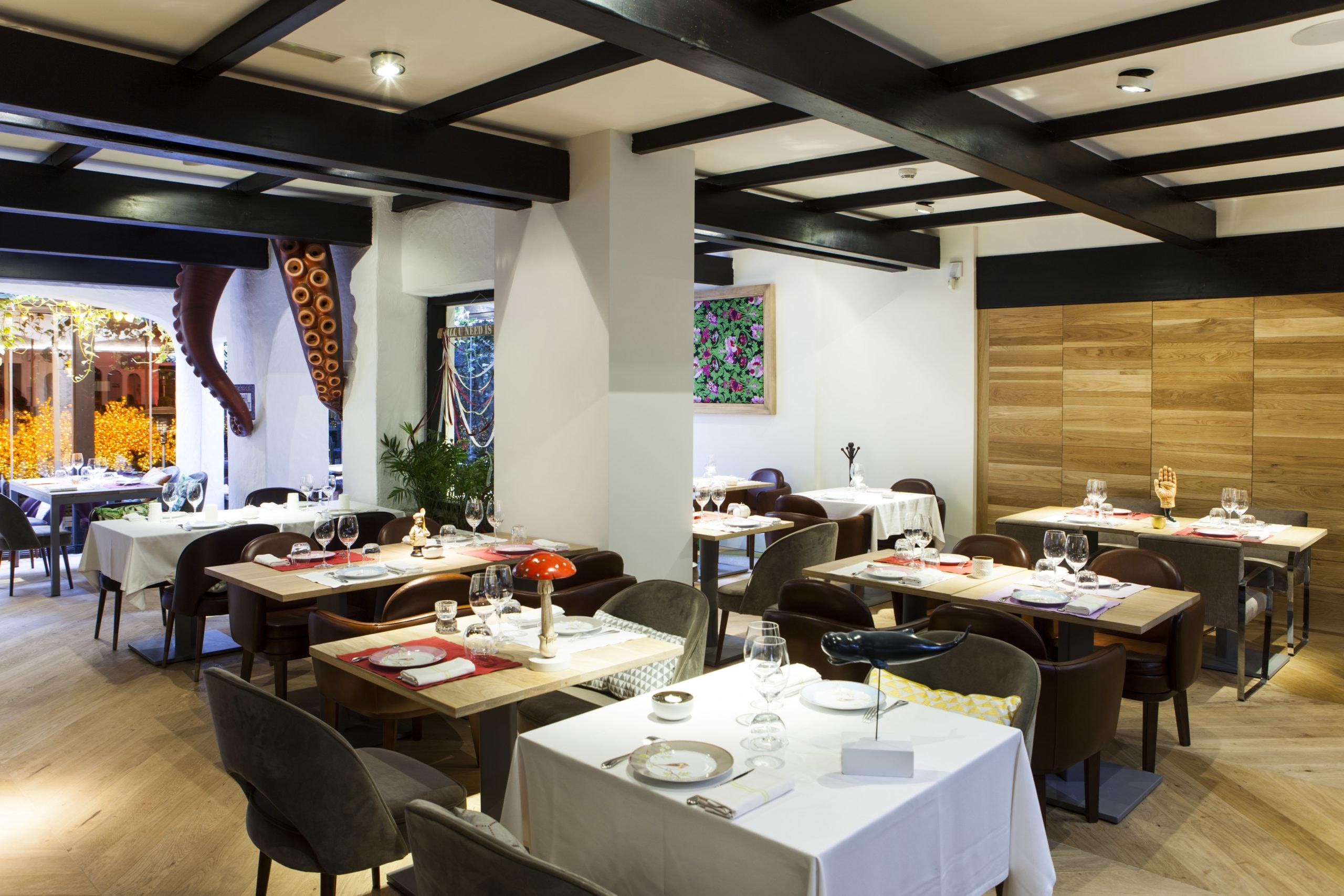 BiBo Marbella restaurant interior
