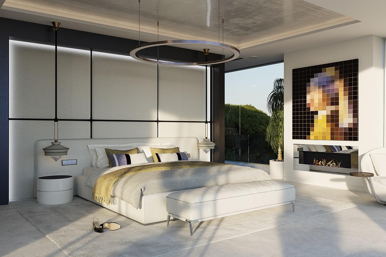 Villa Alcuzcuz, Marbella - Master Bedroom