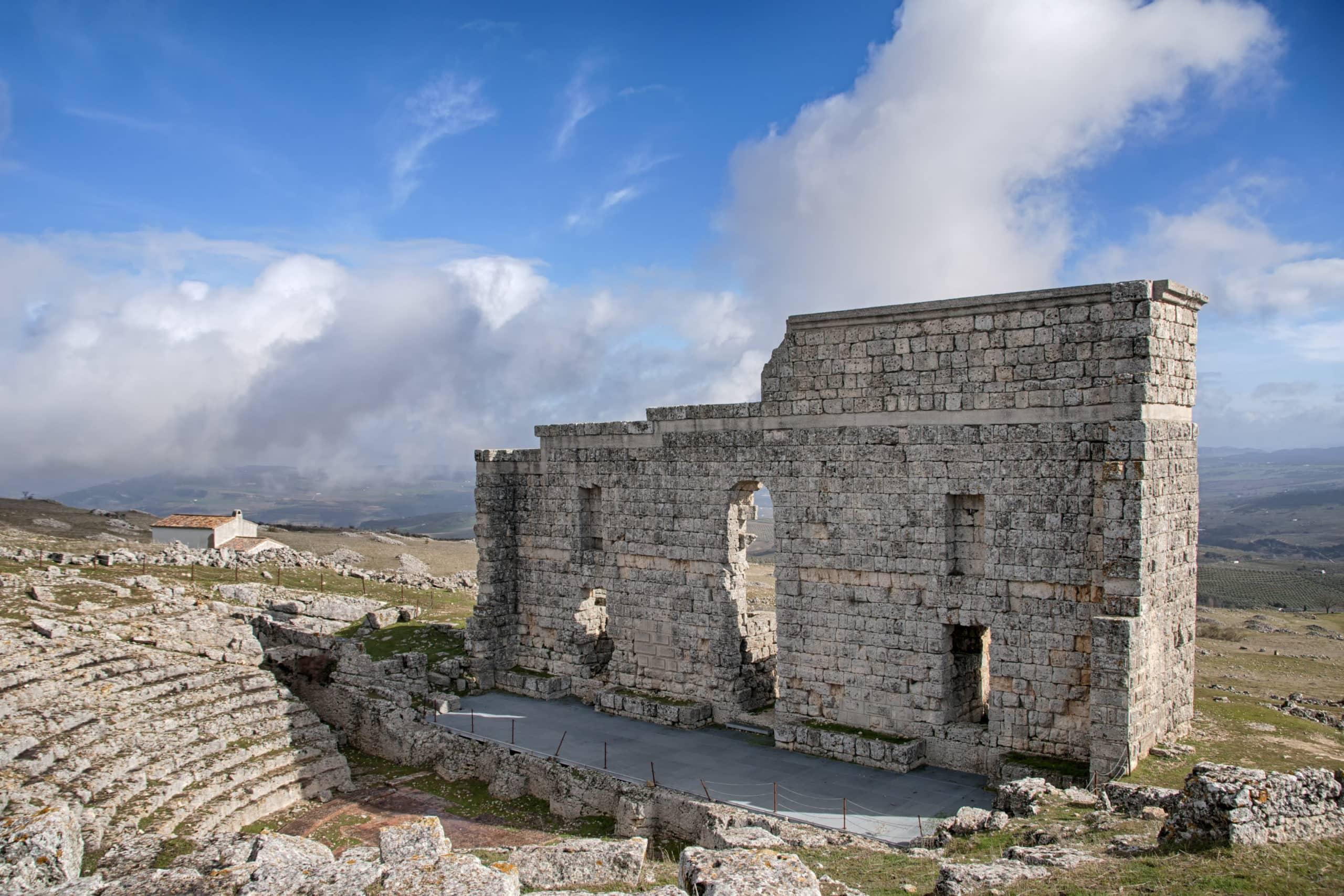Acinipo Roman Theatre near Ronda