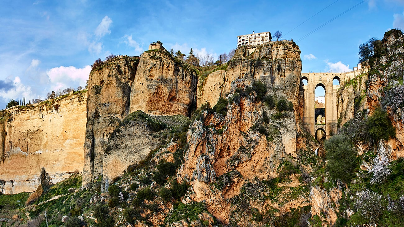 The magnificent and historic town of Ronda