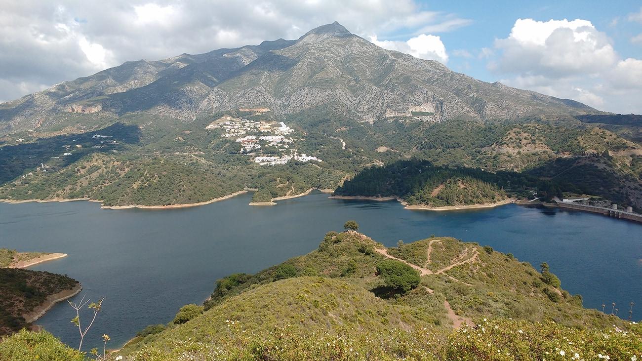 Lake Istan near Marbella