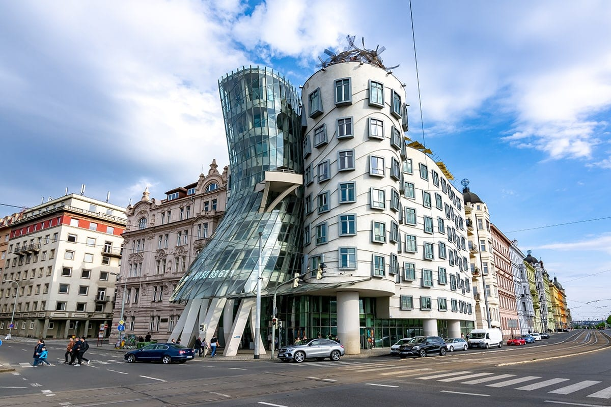 Dancing House in Prague, Czech Republic