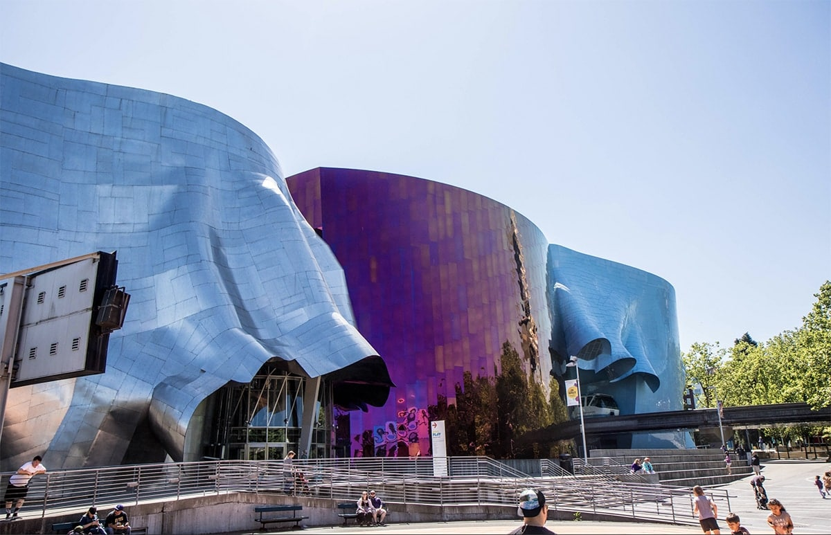 Museum of Pop Culture (or MoPOP) in Seattle