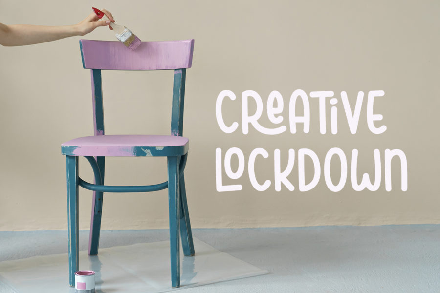 Creative lockdown: furniture you don't like? Paint it!
