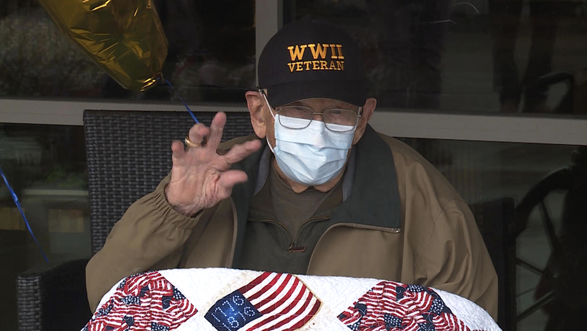 William recovered from coronavirus just in time for his 104th birthday!