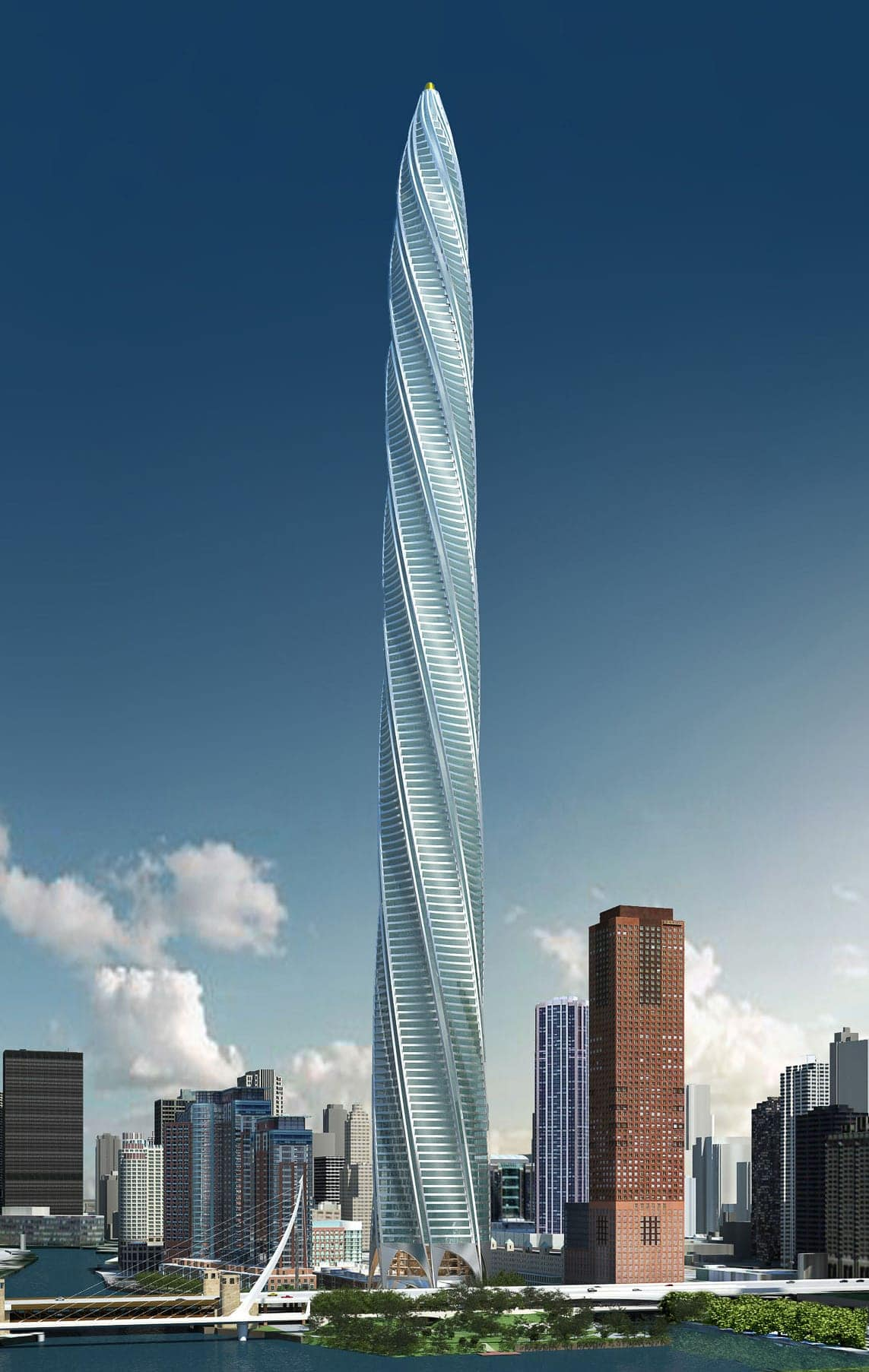 The Chicago Spire Tower