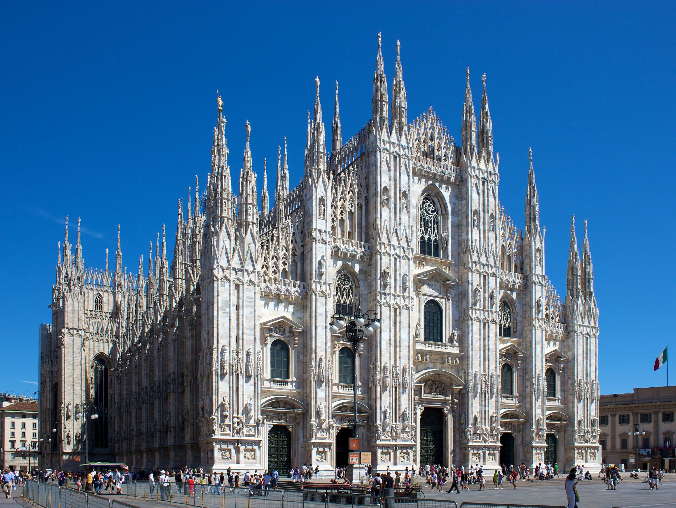 The Duomo di Milano, the largest church in Italy, has now reopened