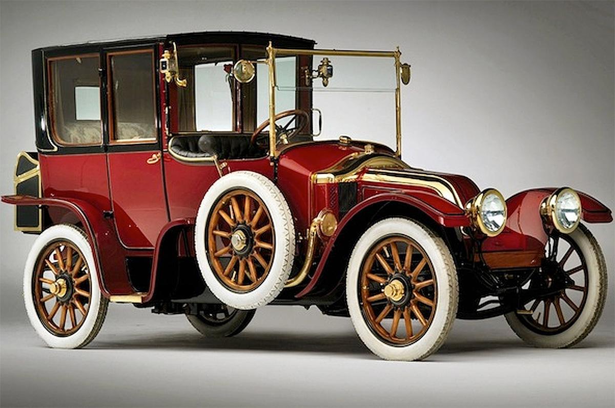1912 Renault Coupe DeVille (photo: Bill Wilson)