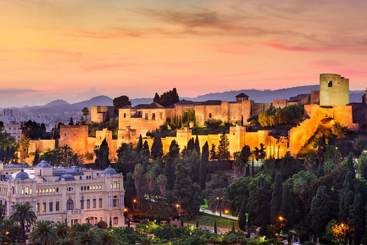 The stunning Alcazaba citadel - visit for sunset and enjoy the amazing vistas