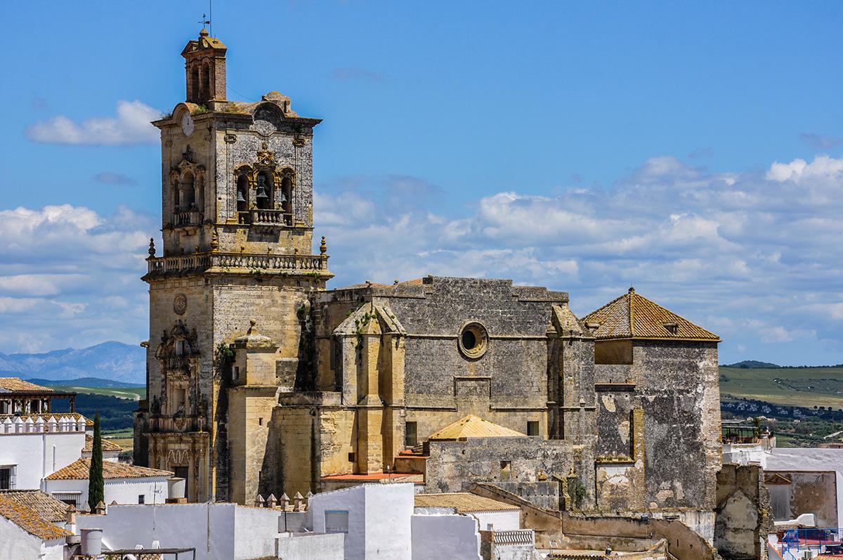 The Church of San Pedro (St Peter) in the centre of Arcos de la Frontera