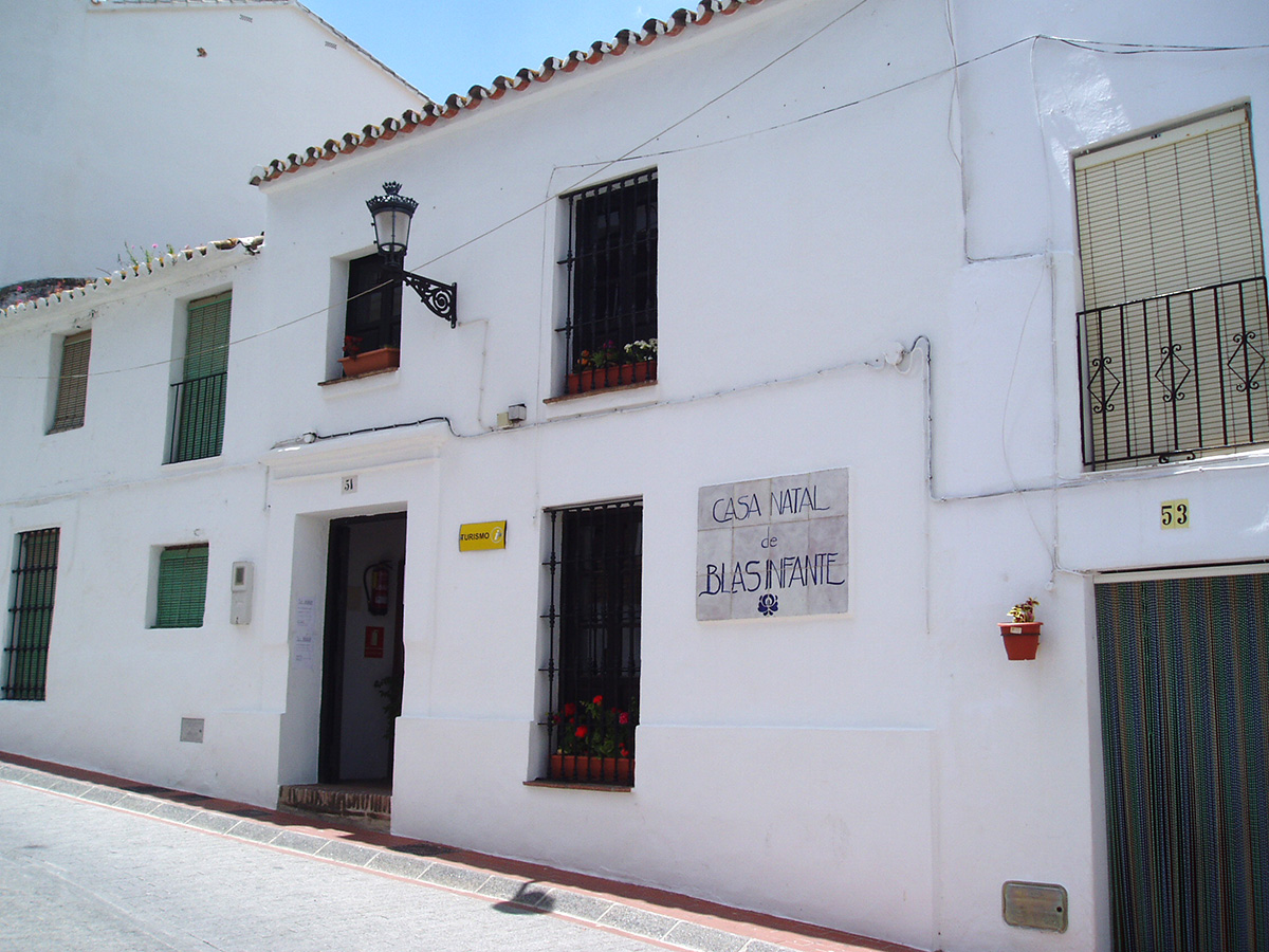 Blas Infante museum at his birth house in Casares