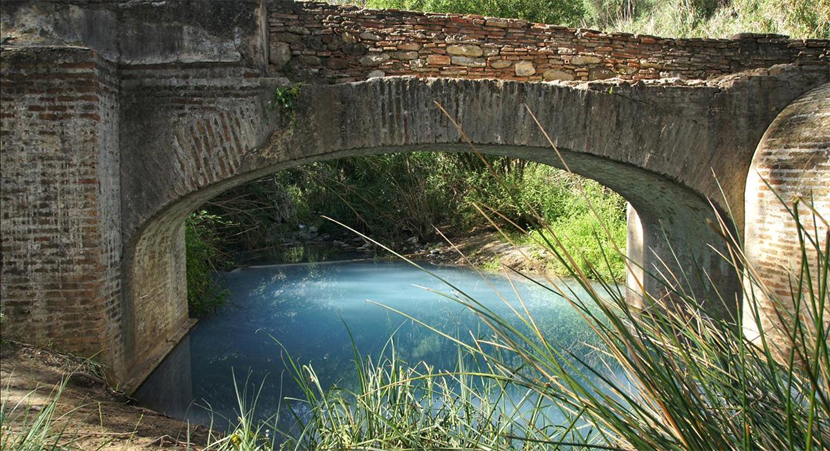 Baños Romanos de la Hedionda, The Roman sulphur baths close to Casares are perfect for a refreshing dip