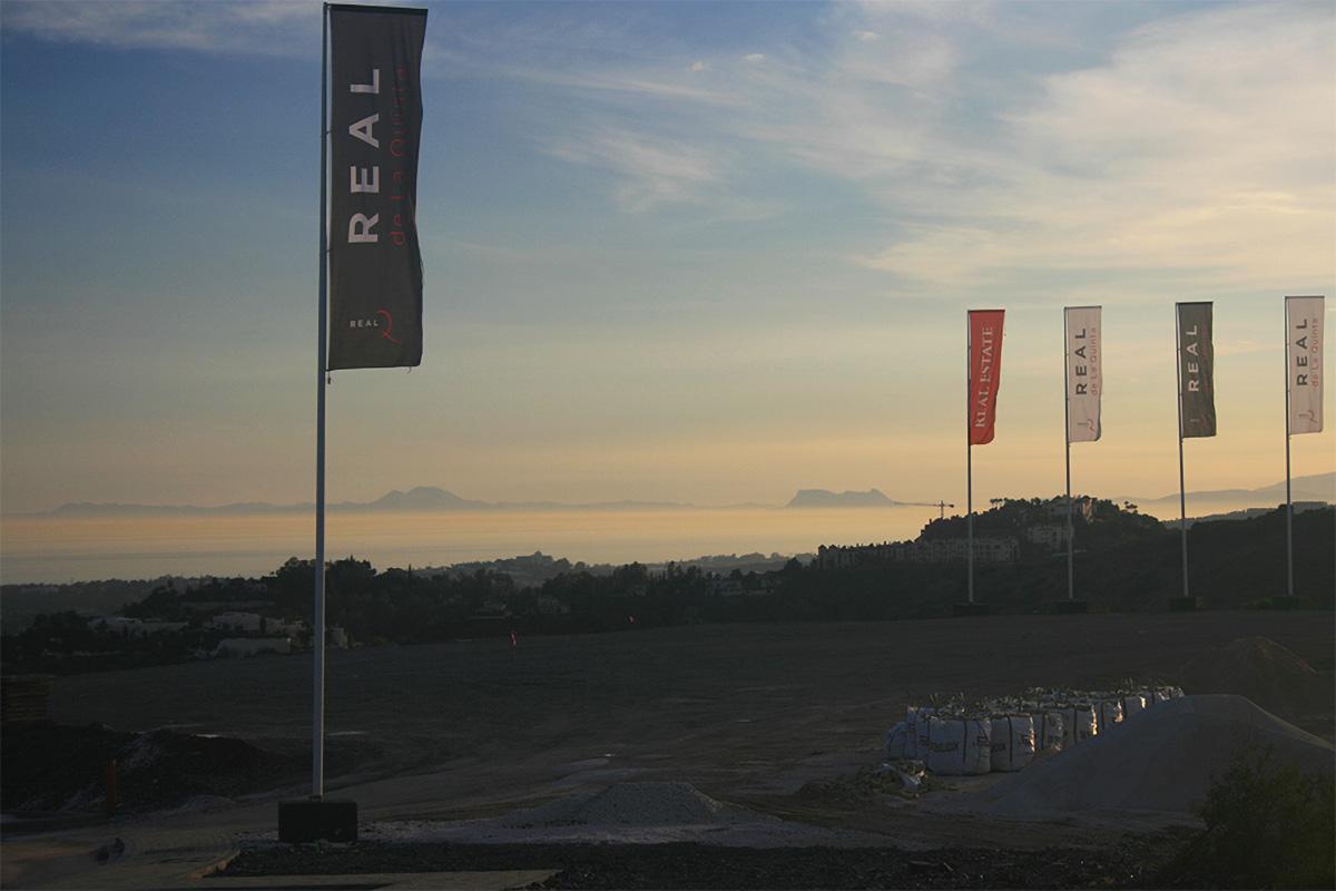 Sunset descends on Real de La Quinta
