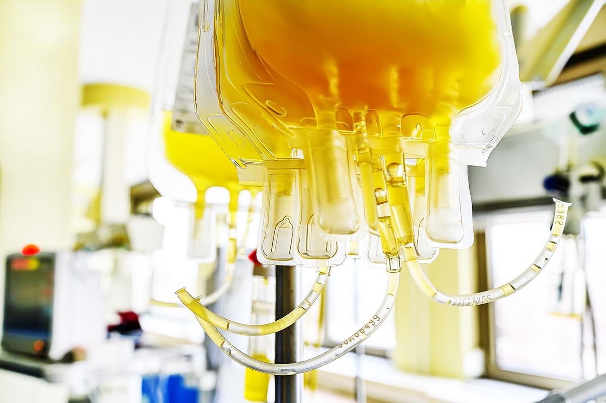 Clinical trials plasma