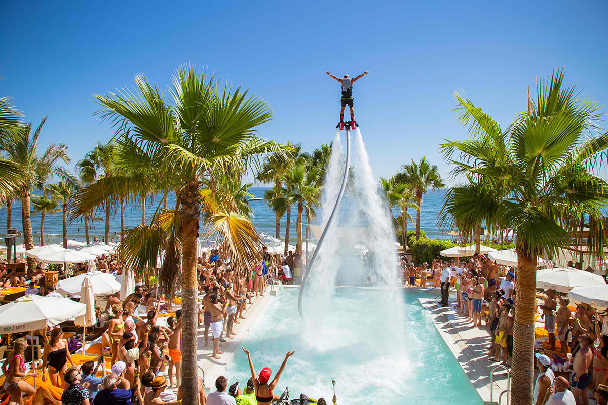 Nikki Beach throw fabulous parties