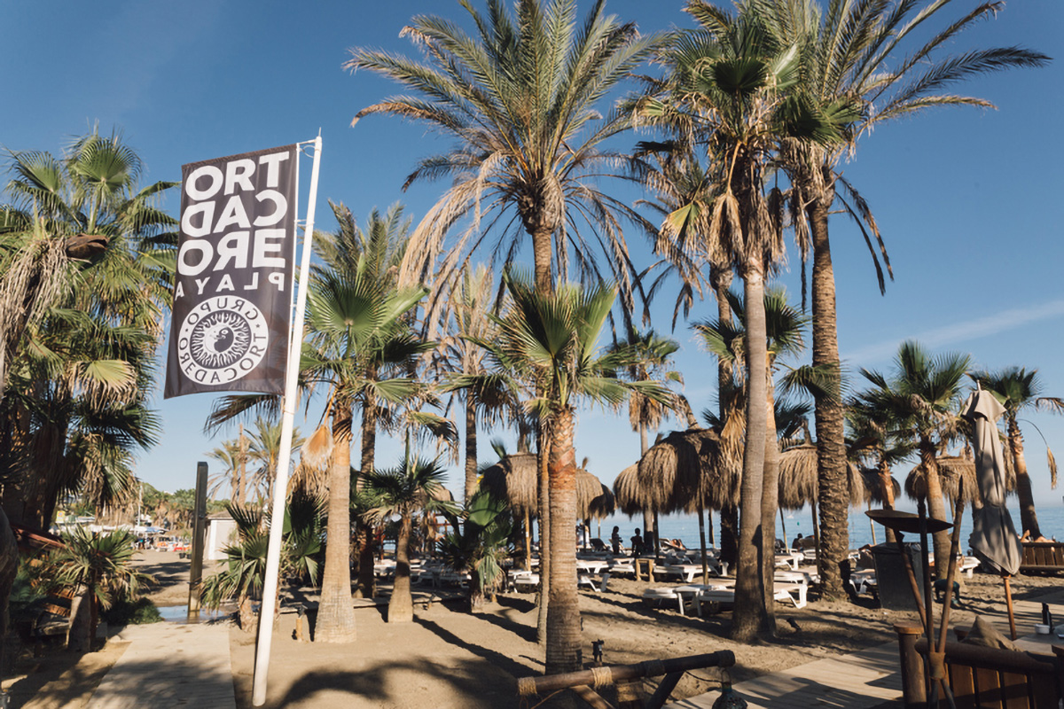 Entrance to Trocadero Playa