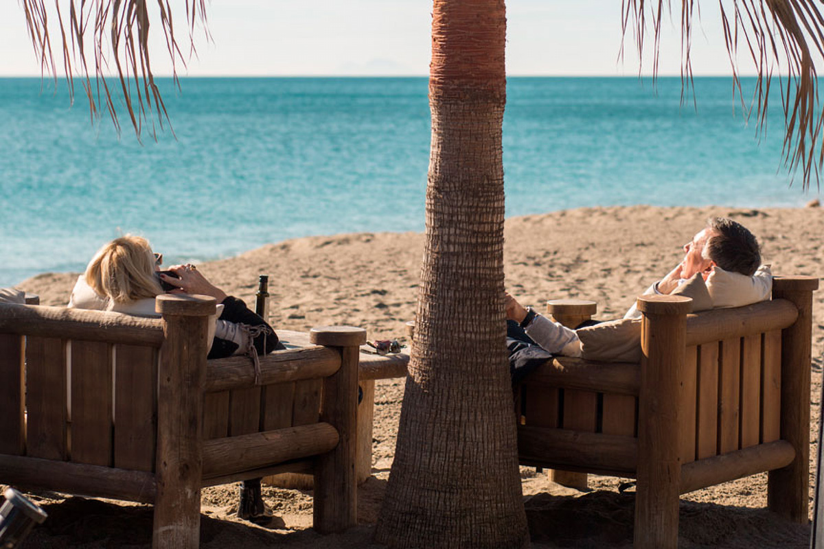 Relaxing is synonymous with Trocadero Playa