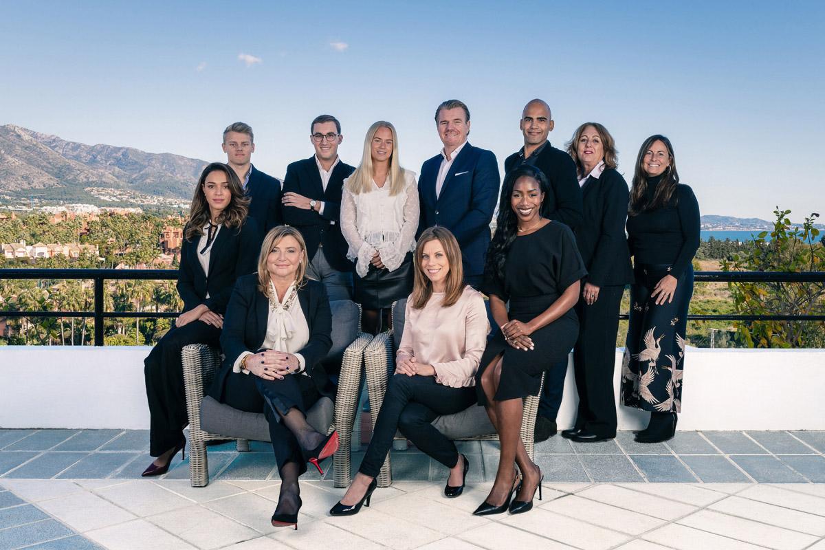 The team at Mas Property Marbella