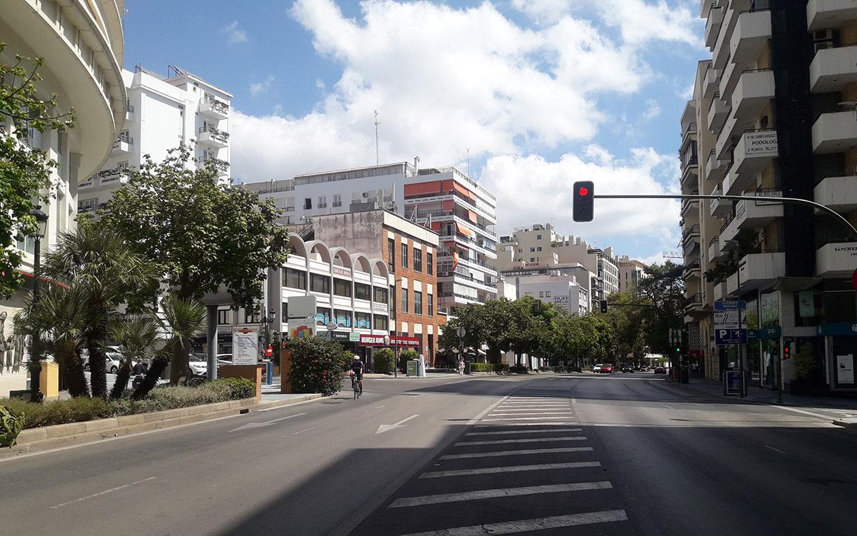 Avenida Ricardo Soriano, Marbella's main thoroughfare