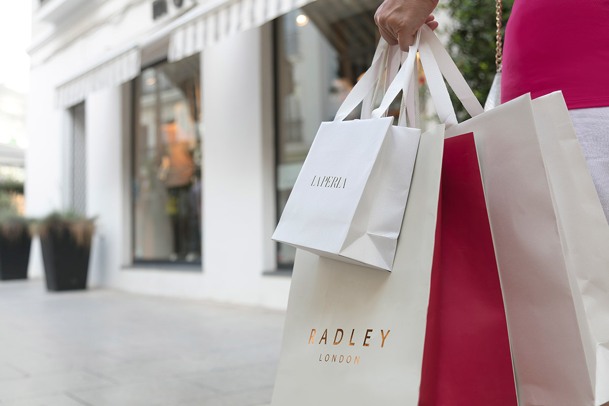 Retail therapy is readily available in Marbella's old town