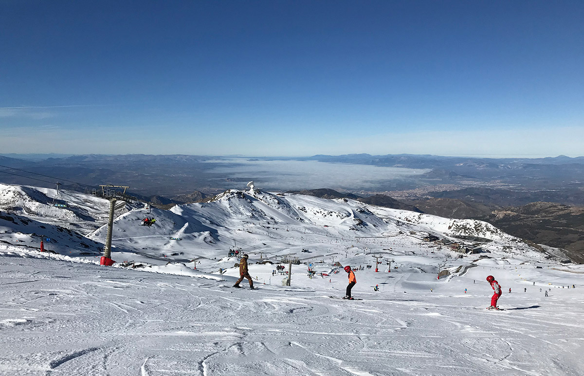 Mainland Spain's highest peak, the famous Sierra Nevada