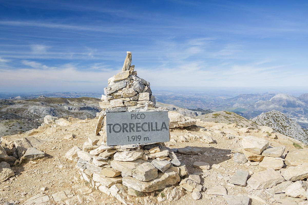 The peak of La Torrecilla