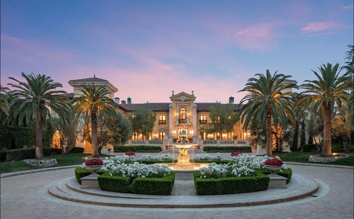 Villa Firenze, Beverly Park, California,