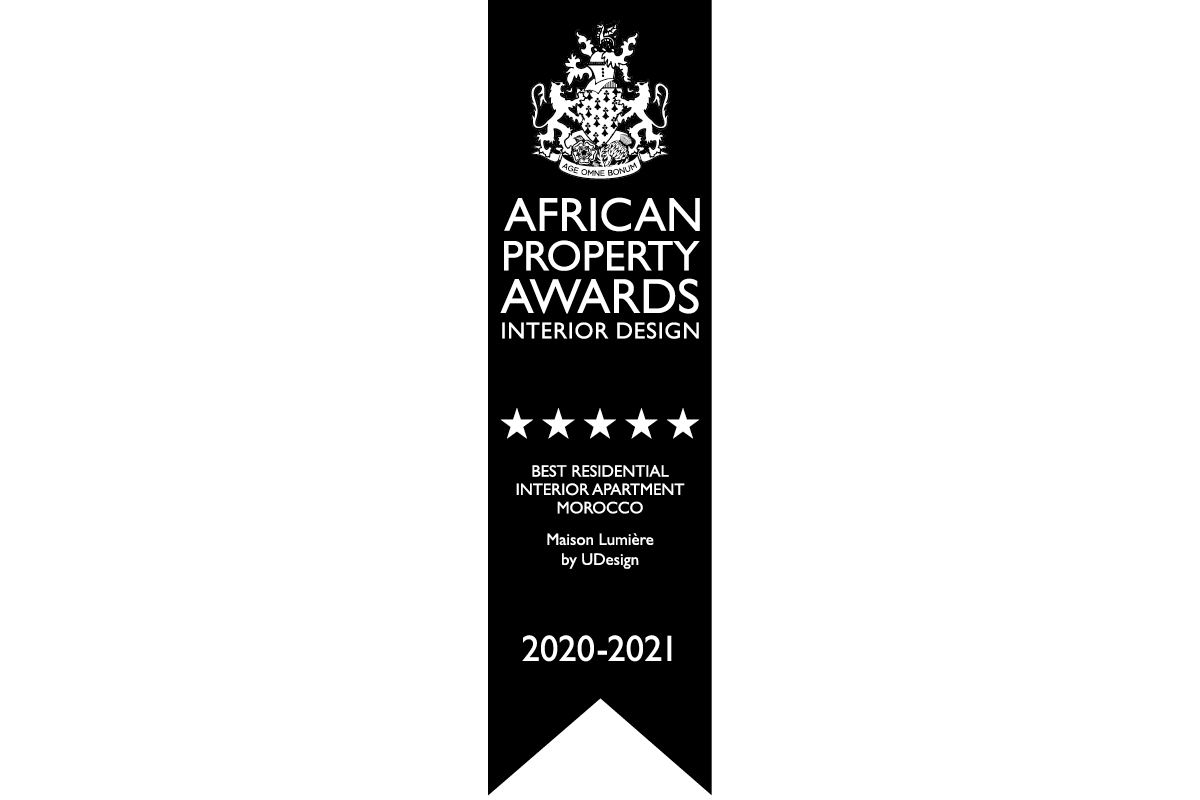 """African Property Awards, interior design, """"Maison Lumière"""" in Tangier, Morocco,"""