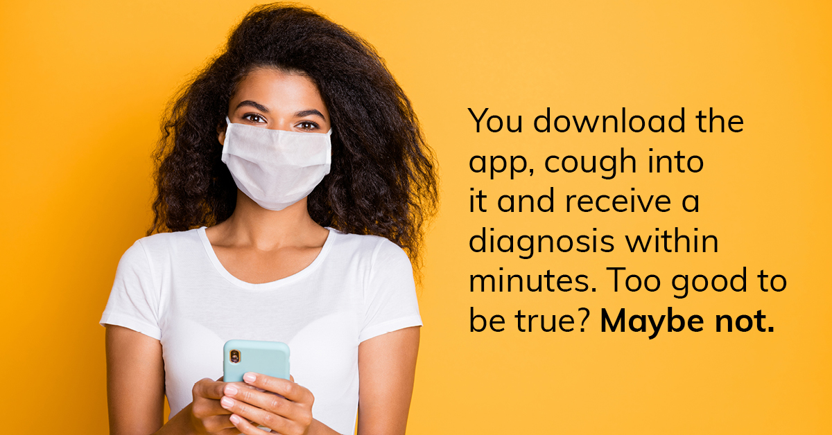 The new Covid-19 testing app: too good to be true?