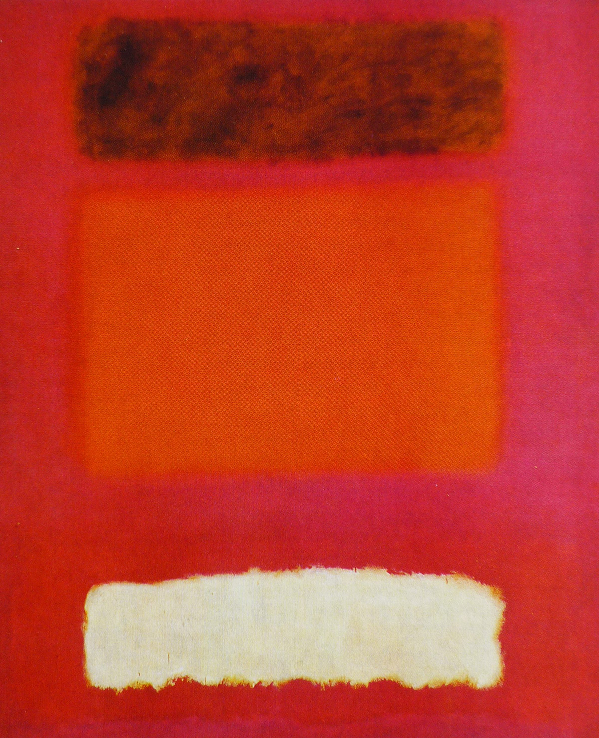 Abstract painting by Marc Rothko