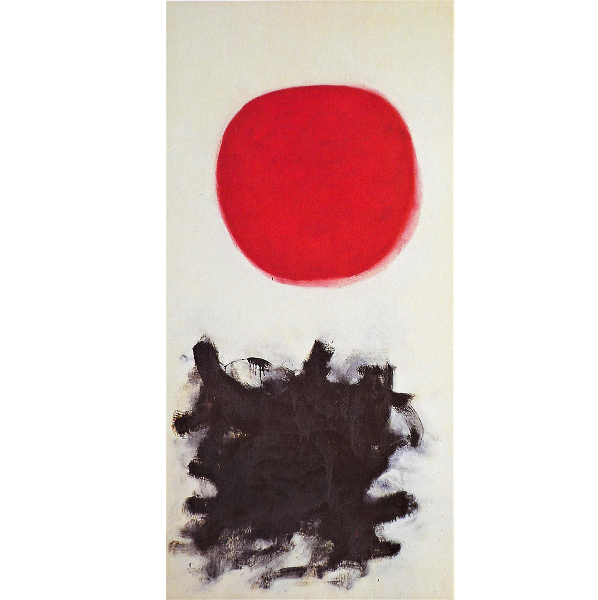 Abstract painting by American Abstract Impressionist painter, Adolph Gottlieb,
