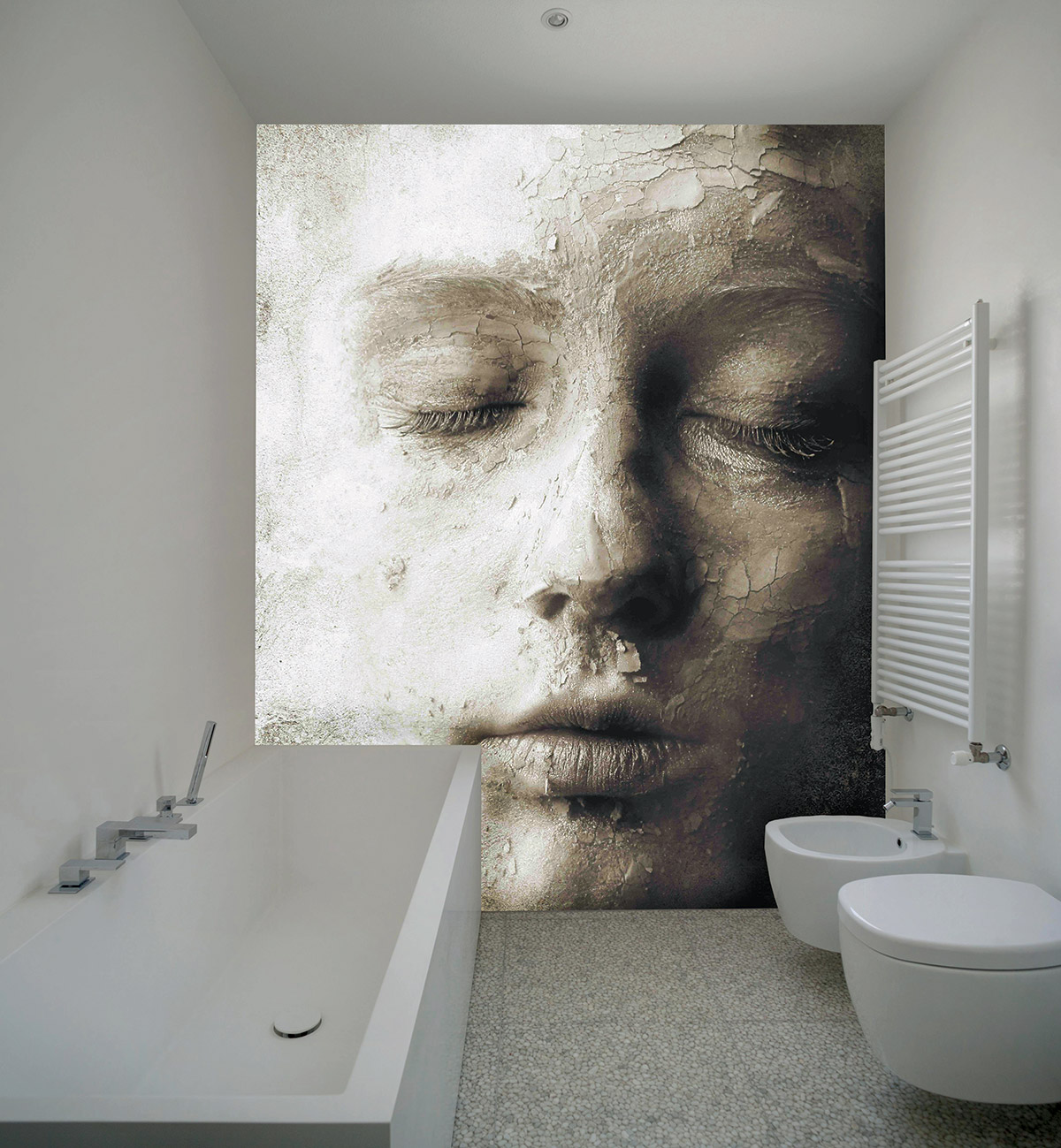 Wallpaper mural by the Italian firm Creativespace