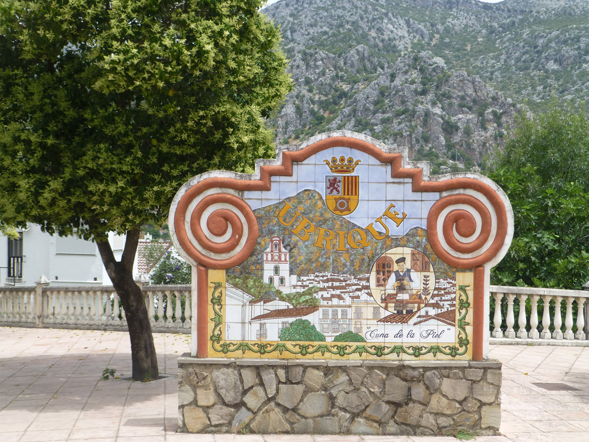 Ubrique white village