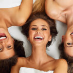 Happy Girls at the Marbella Spa