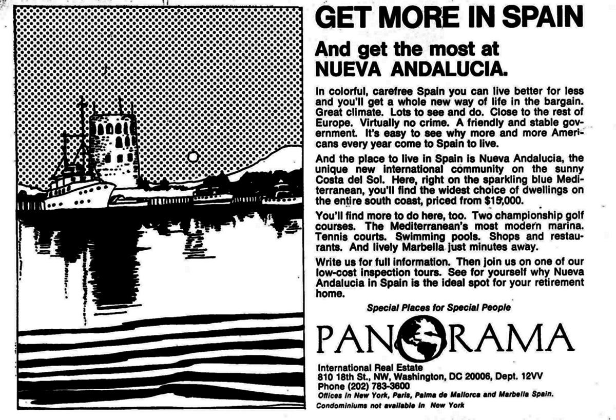 US advert in 1971: