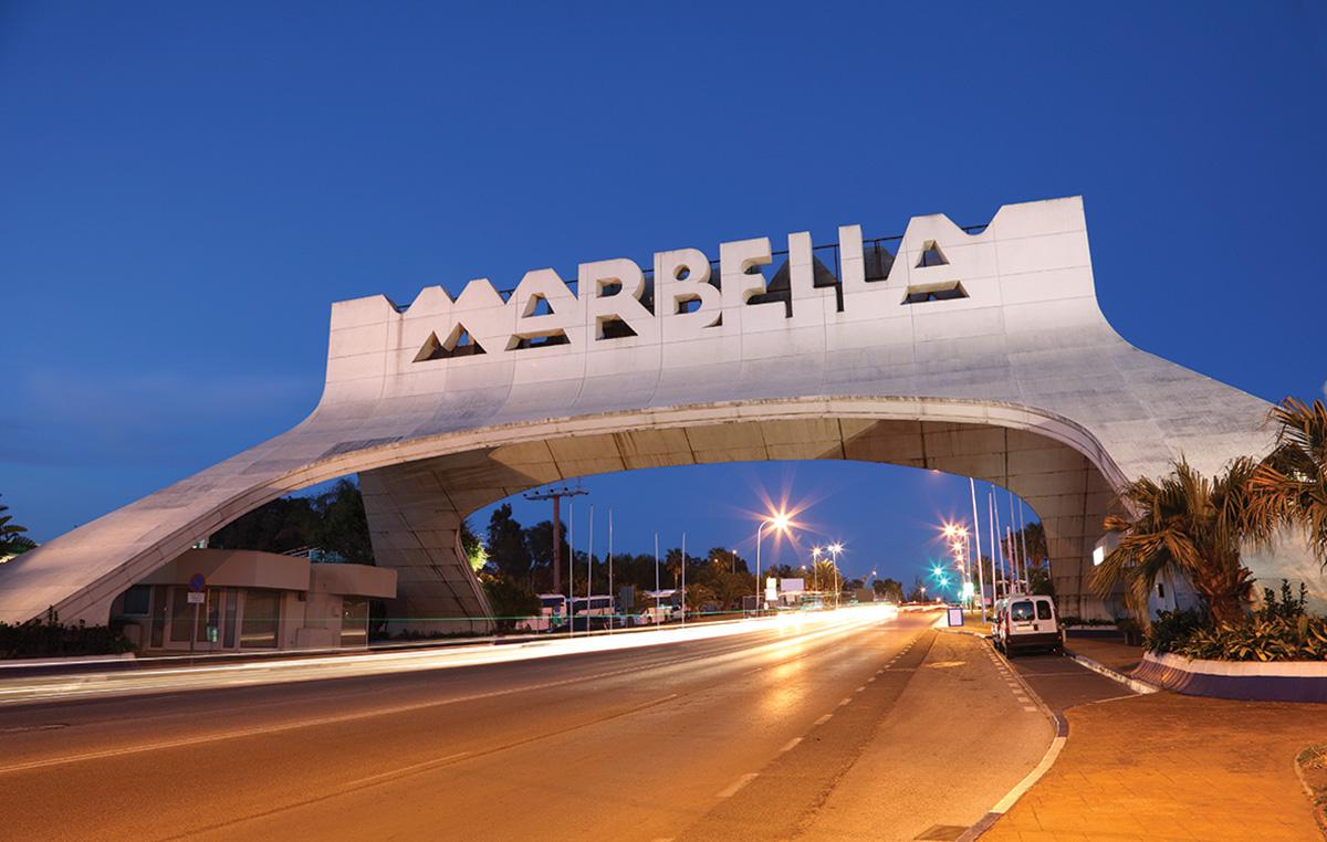 Marbella entrance Arch