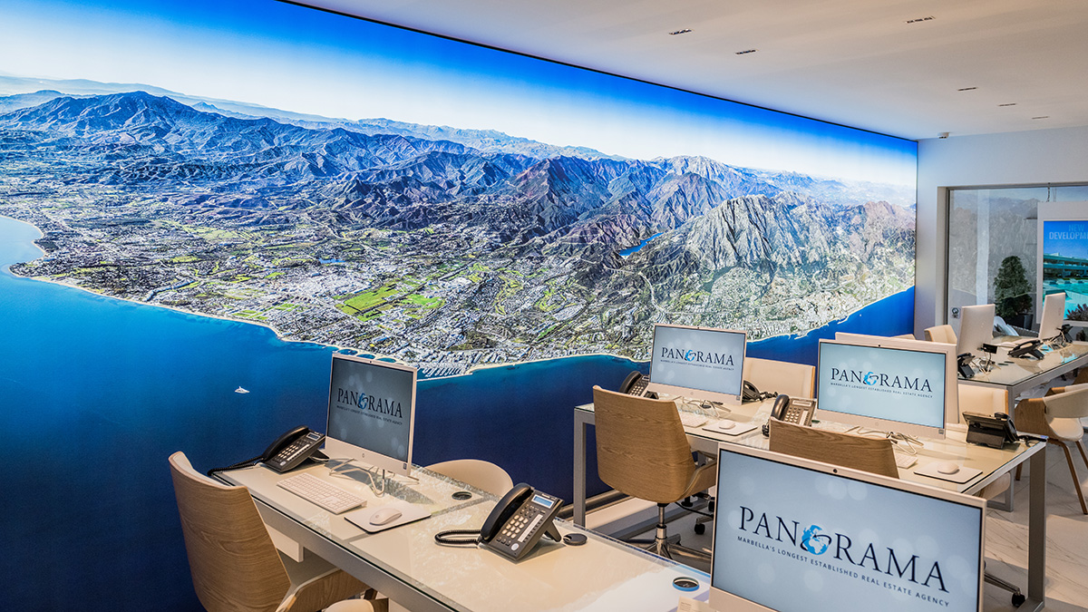 Panorama's state of the art offices in Puente Romano