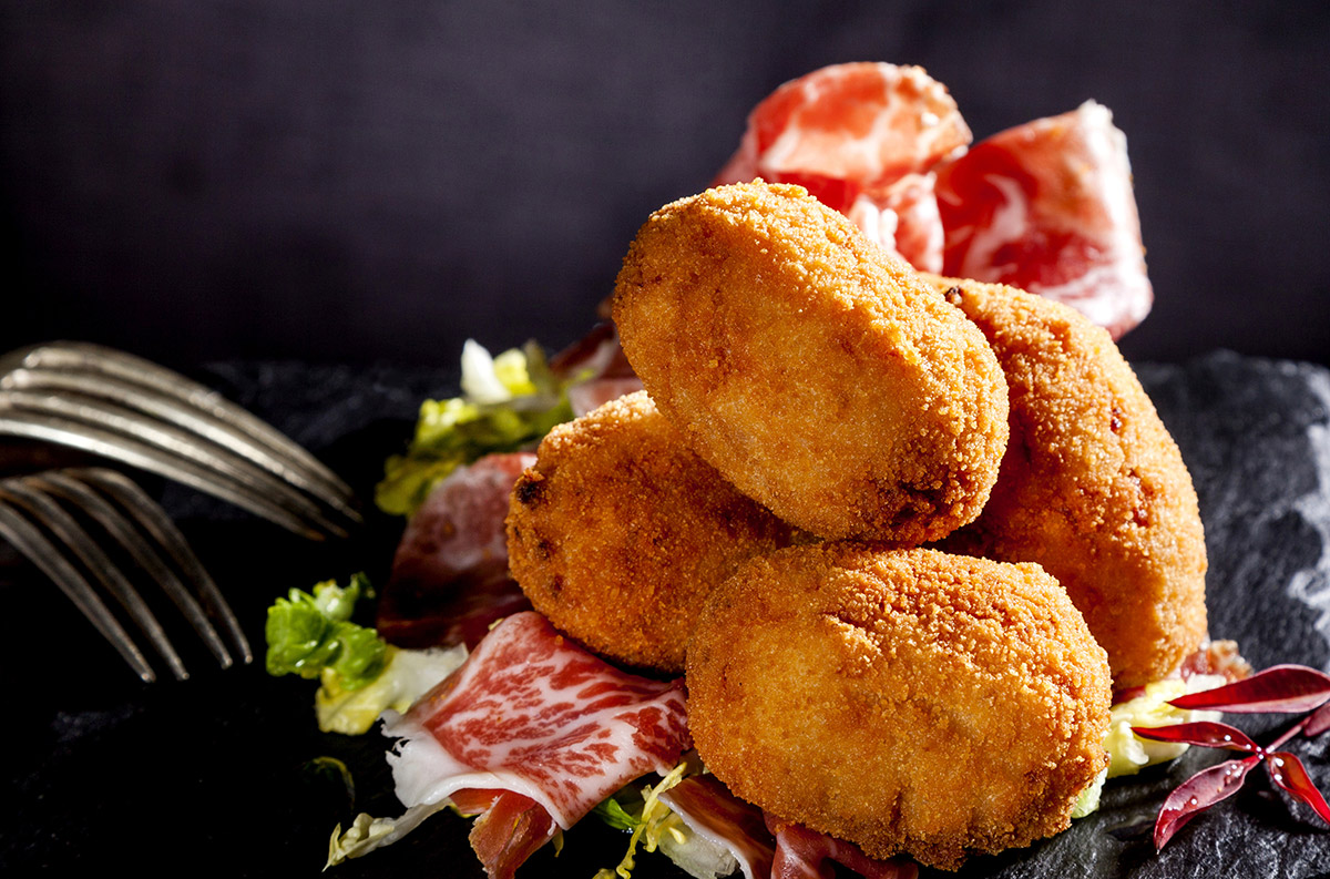 Winter warming Spanish Tapas - Croquetas