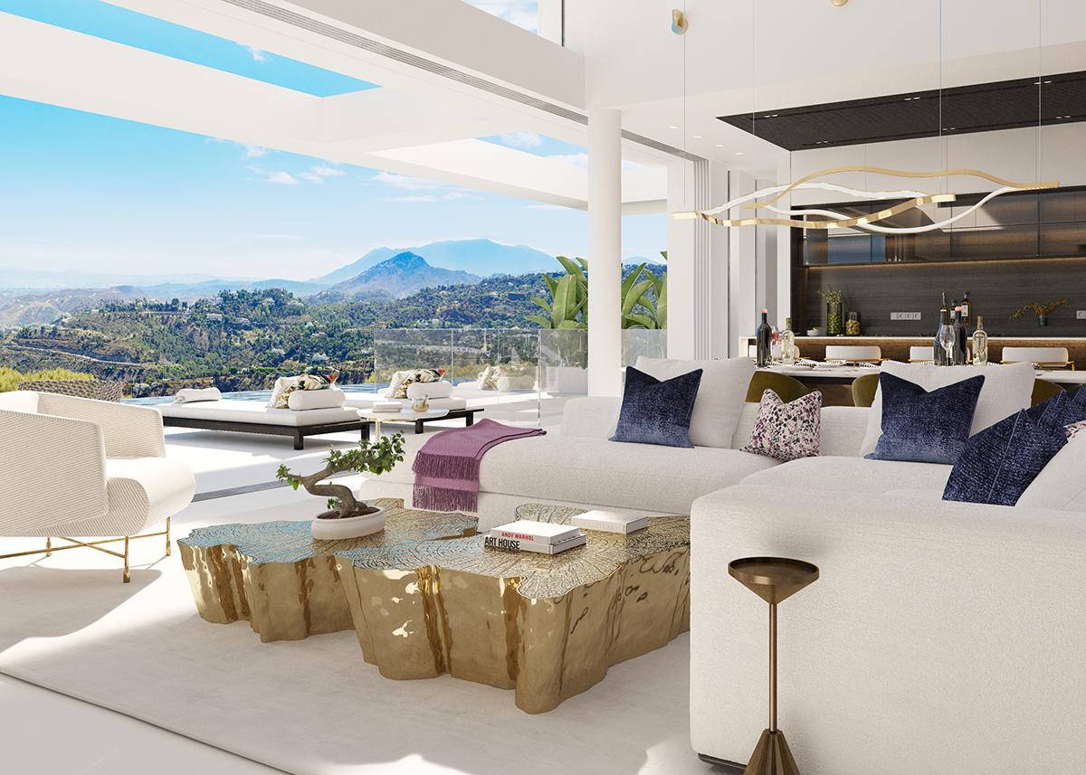 Lounge - Vista Lago Residences, Marbella