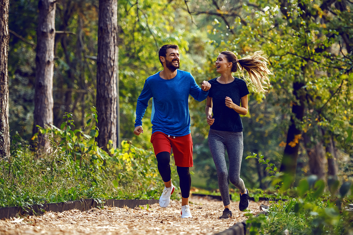 Getting outside to build up your fitness