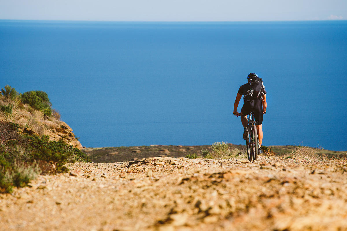 Cycling around Marbella