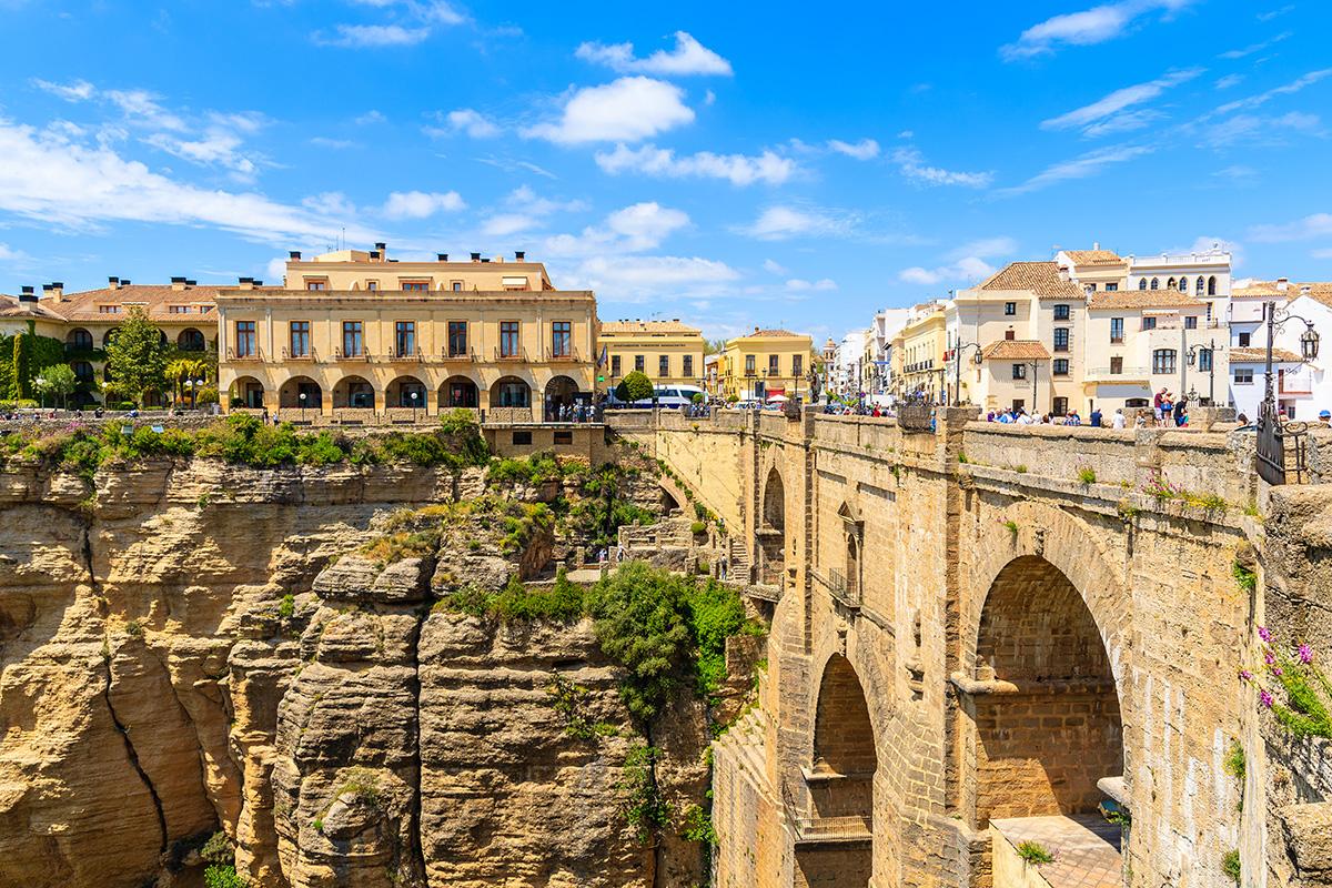 Ronda Tajo and new bridge