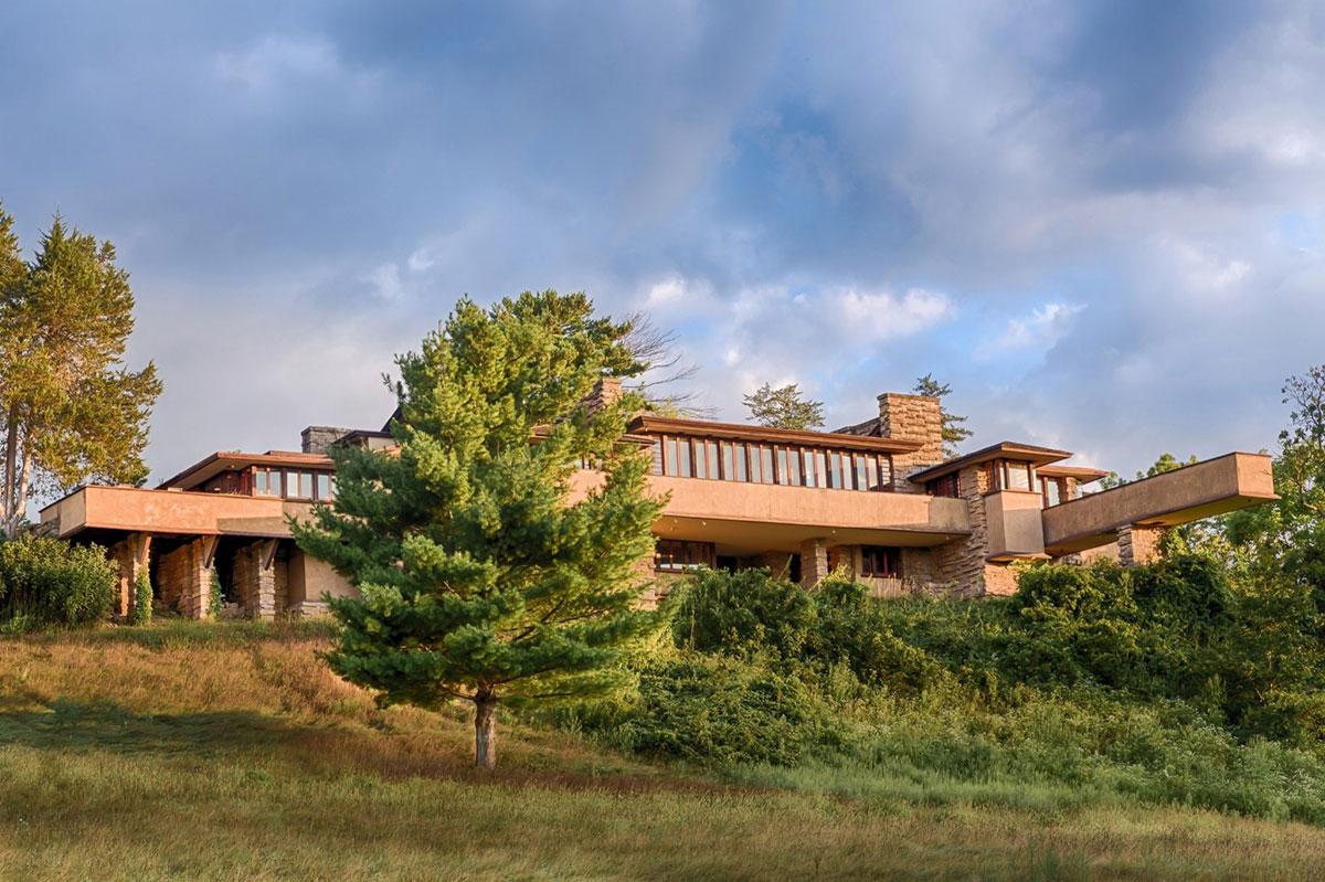 Wright's Taliesin house