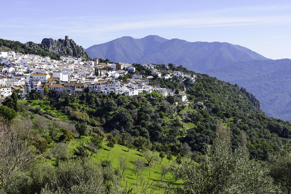 The village of Gaucín