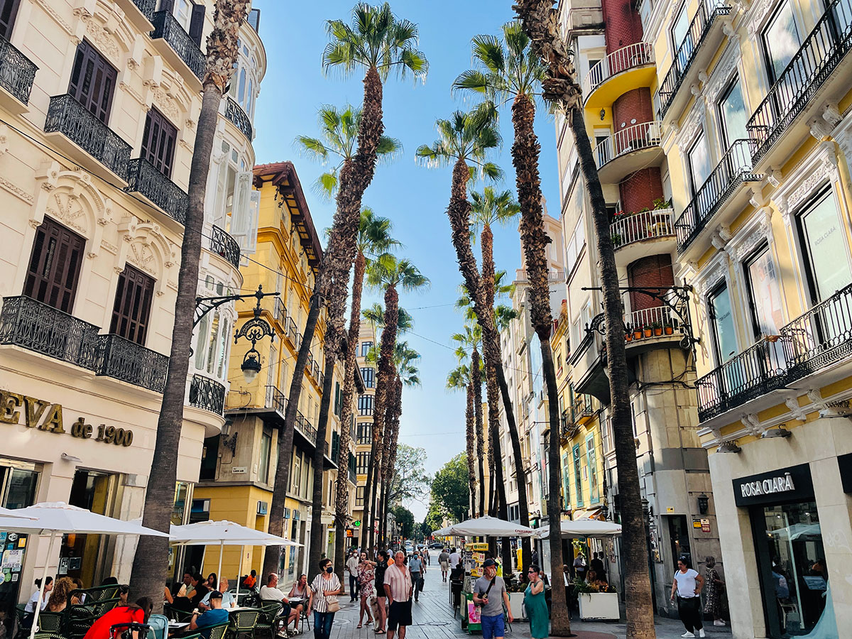 Taking a stroll though Málaga's revamped centre