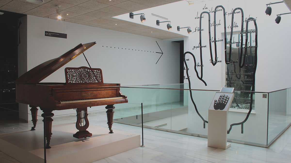 MIMMA houses one of Europe's largest collections of musical instruments