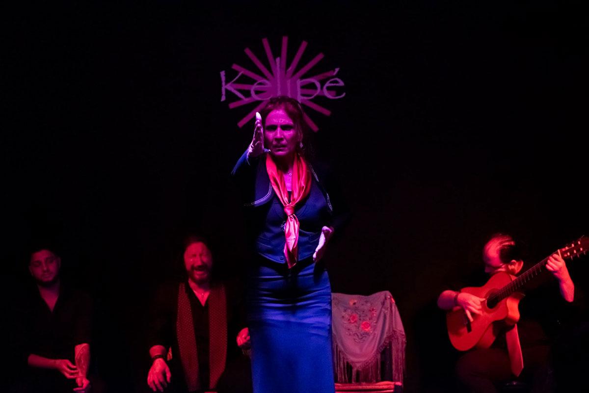 Kelipe offers raw flamenco